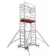 SCHELA MOBILA DIN OTEL PROFI CU SUPRAFATA PODINA 1.6X0.7M S177