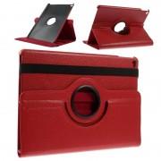 Bolsa em Pele Rotativa para iPad Air 2 - Vermelho