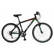 Bicicleta MTB-HT 26 VELORS V2655B Cadru aluminiu Culoare negru-rosu