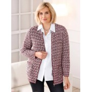 m. collection Vest m. collection Rood::Zwart::Wit