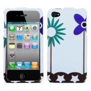 Funda Protector iPhone 4G/4S Flores y Estrellas
