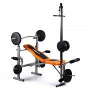 KLARFIT Ultimate Gym 3500 Kraftstation bancă răsuci brațul latissimus / picior (FIT13-Ultimate-Gym-3)