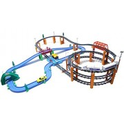 Aida KTE Big Size 3F Rail High Speed Train Railway Roadway Deluxe Set (182 pcs, 6.4 x 4.9 ft)