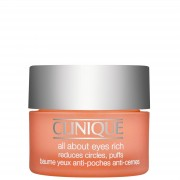 Clinique Eye & Lip Care All About Eyes Rich riduce cerchi, soffi 15ml / 0.5 oz.