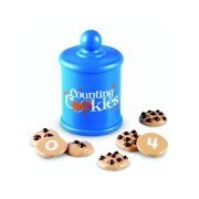 Learning Resources Snacks Smart Counting Cookie Set