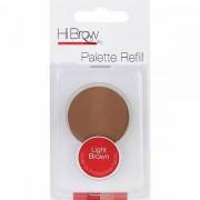 Hi Brow Hej Brow Brow Powder palett Refill - ljusbrun