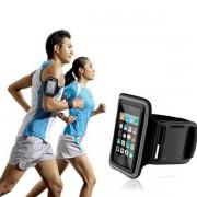 Husa Banderola Telefon cu Prindere pe Brat pentru Jogging 14x7cm