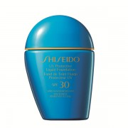 Shiseido Protector Solar Facial Sun UV Protective Liquid Foundation Medium Ivory SP40 SPF30