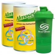 Almased 2 x Vitalkostpulver + Smart Shaker