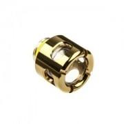 Fiting compresie alama Monsoon Free Center Hardline pentru tuburi acrilice 13/10mm, Gold