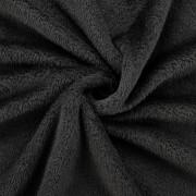 [neu.haus]® Deka - mikrovlákno, plyšová přikrývka - přehoz - 280 g/m² - černá - 220x240 cm