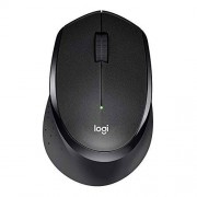 Logitech M330 Silent Plus Wireless Mouse Enjoy Same Click Feel with 90% Less Click Noise, 2 Year Battery Life, Ergonomic Right-hand Shape for Computers and Laptops, USB Unifying Receiver, Black