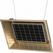 TPI Overhead Flat Panel Electric Infrared Heater - 4,300 Watt, 14,672 BTU, Model FSS-4320-3