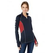 ARIAT Lowell 2.0 1/4 Zipshirt para Mujer, Team, XXL