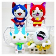 Yokai Watch - Set de 4 Peluches musicales de la serie Yokai Watch