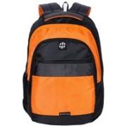 Harissons HB1111BLACKGREYORANGE 29 L Backpack(Black, Orange)