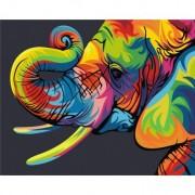 Regenboog Olifant