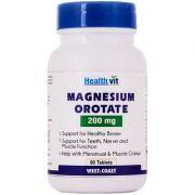 Healthvit Magnesium Orotate 200 Mg 60 Tablets