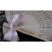 Personalised Sandalwood Fans