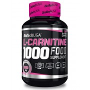 Biotech l-carnitine 1000mg tabletta 30db