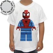 Camiseta Lego Homem Aranha Spider Man Pose