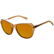 David Blake Brown Cateye Polarised UV Protected Sunglass