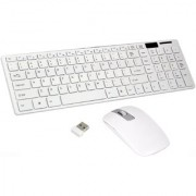 Terabyte Ultra - Thin Medium Fashion Wireless Keyboard Mouse Combo - Multi Color