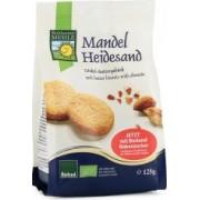 Biscuiti Bio din faina de grau spelta cu unt si migdale 125g Bohlsener Muhle