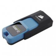 128GB USB Flash Drive, Corsair Voyager Slider X2, USB 3.0, синя