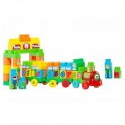 Tren blocks Construcción - Molto