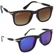 Elegante Wayfarer Sunglasses(Violet)