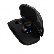 X-18 TWS True Wireless Bluetooth 4.2 Stereo Earphone + 400mAh Charge Box - Black