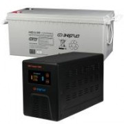 Комплект ИБП Инвертор Энергия Гарант 1000 + Аккумулятор 200 АЧ