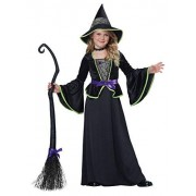 California Costumes Classic Witch/Child Costume, One Color, X-Large