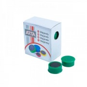 Ave Tech Sada magnetů 16 mm, 10 ks zelená
