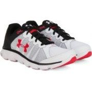 Under Armour Micro G Assert 6 Running Shoes For Men(White)