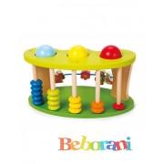 Детска дървена играчка за координация