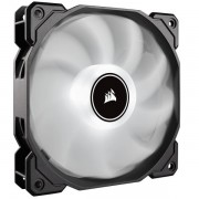 Corsair Af High Airflow Low Noise White Led Cooling Fan - 140mm - Dual