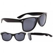 Aligatorr Stylish UV Protection Black Unisex UV400 Wayfarer Sunglass