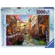 Puzzle Venetia romantica, 1000 piese