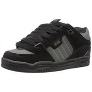 Globe Men s Fusion-Fabri Skate Shoe Black/gunmetal 8.5 D(M) US