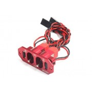 Generic F08025 : F08024/6 Brand Heavy Duty Metal Dual Power Switch No Fuel Dot for RC Helicopter Car Boat Aircraft Engine Part 3colors FS