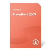 Microsoft PowerPoint 2007, 079-02840 електронен сертификат