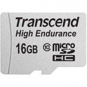 Transcend MicroSDHC Memory Card - 16GB
