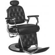 Mega Beauty Shop® Barbierstoel Kapperstoel Zwart - barbier