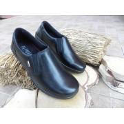 Pantofi femei din piele+Tex-negru, 8594-1, Alpina
