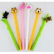 Oytra Pens Combo | Cute Anime Stylish Designs | 0.38 mm Gel Pen | Set of 6 Pens