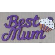 Best mum cupcake magnet