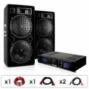 "Electronic-Star DJ PA система ""DJ-42"" усилвател Speaker 3000W (PL-5262-1340)"