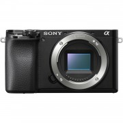 Sony Alpha A6100 Body Only Digital Mirrorless Cameras - Black (International Ver.)